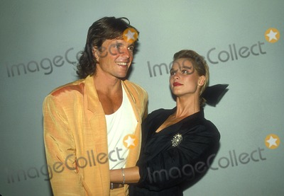 Roger Wilson Photo - Nicolette Sheridan with Roger Wilson 8-1986 Photo by Betty Mickelson-michelson-Globe Photos Inc