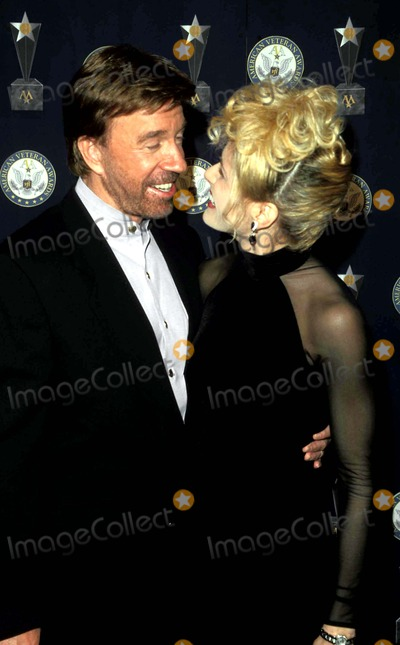 Chuck Norris Photo - Sd1212 American Veteran Beverly Hills California Chuck Norris and Wife Photo Paul Skipper  Globe Photos Inc 2000 Chucknorrisretro