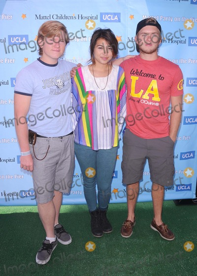 Chris Brochu Photo - Annual Mattel Party on the Pier at Pacific Park on the Santa Monica Pier in Santa Monica CA 101611 Photo by Scott Kirkland-Globe Photos   2011 Doug Brochu Hayley Kiyoko and Chris Brochu