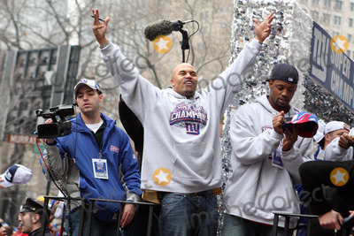Antonio Pierce Photo - Ticker Tape Parade For NY Giants Super Bowl Champions Date 02-05-08 Photos by John Barrett-Globe Photosinc 2008 Antonio Pierce