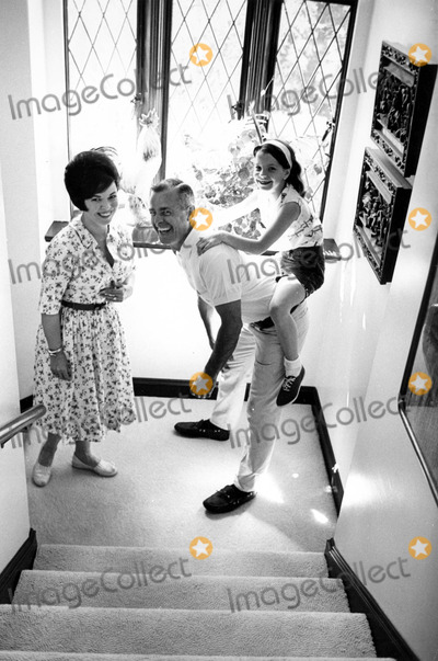 Shirley Temple Black Photo - Shirley Temple Black with Husband Charles Black and Daughter Lori 1966 21551 Don OrnitzGlobe Photos Inc