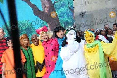 Savannah Guthrie Photo - Tamron Hall AL Roker Savannah Guthrie Matt Lauer Hoda Kotb Kathie Lee Gifford Take Part in Today Show Spooktacular Costume Party Rockefeller Center NYC October 30 2015 Photos by Sonia Moskowitz Globe Photos Inc