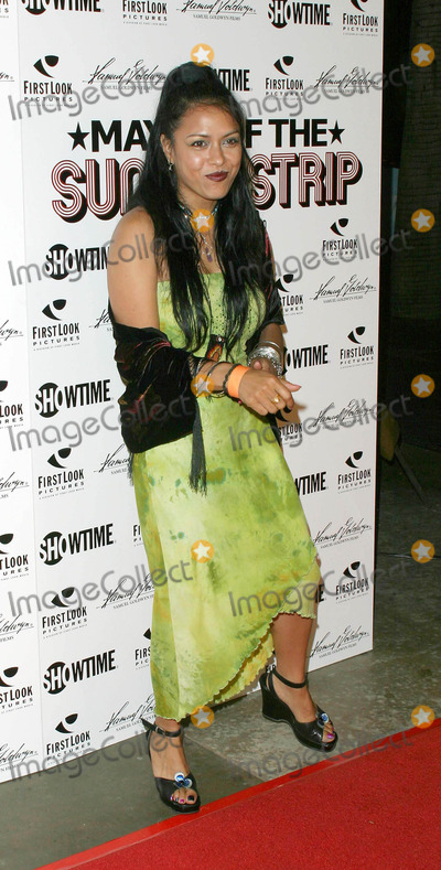 Annabella Lwin Photo - Mayor of the Sunset Strip Premiere at the Egyptian Theater Hollywood California 032204 Photo by Nina PrommerGlobe Photos Inc2004 Annabella Lwin