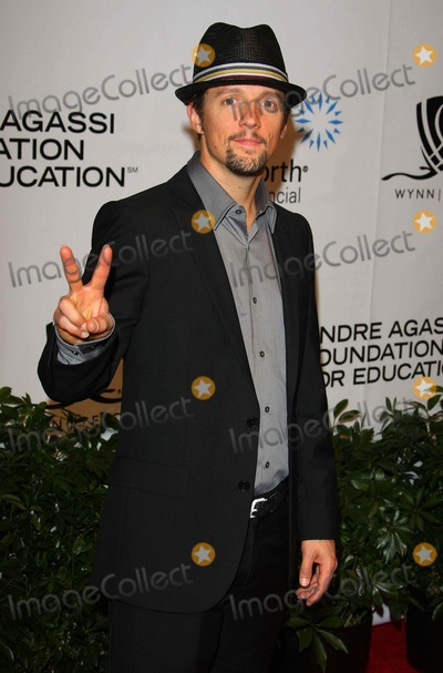 Andre Agassi Photo - Jason Mraz Singer Andre Agassi Foundation For Educations 15th Grand Slam For Children Benefit Concert - Red Carpet the Wynn Las Vegas 10-09-2010 Photo by Graham Whitby Boot-alstar-Globe Phtos Inc 2010