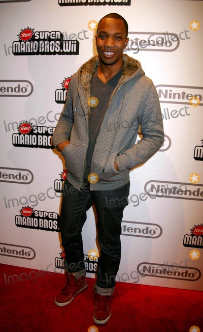 AJ Crimson Photo - Nintendo of America Releases the New Super Mario Bros Wii Video Game the Nintendo World Store Rockefeller Plaza NYC 11-12-2009 Photo by Sonia Moskowitz Globe Photos Inc 2009 Aj Crimson