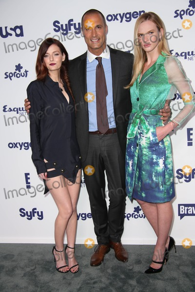 ANN V Photo - NBC Uni Cable Upfront Presentation 2014 Red Carpet Arrivals the Javits Center NYC May 15 2014 Photos by Sonia Moskowitz Globe Photos Inc 2014 Lydia Hearst Nigel Barker Anne V