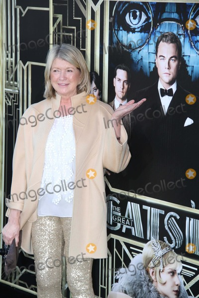 Martha Stewart Photo - Martha Stewart at World Premiere of the Great Gatsby at Avery Fisher Hall at Lincoln Center 5-1-2013 Photo by John Barrettphotos