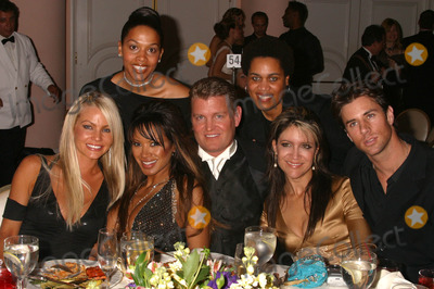Tracy Bingham Photo - the 14th Annual Night of 100 Stars Oscar Gala-inside the Party at the Beverly Hills Hotel Beverly Hills California 022904 Photo by Clinton H WallaceipolGlobe Photos Inc2004 Traci Bingham John Yarbough and Friends