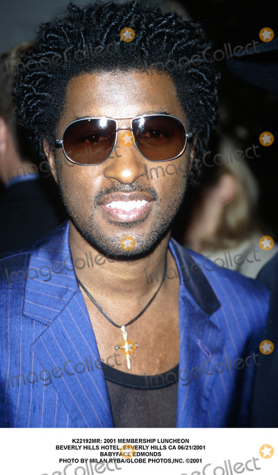 Babyface Photo -  2001 Membership Luncheon Beverly Hills Hotel Beverly Hills CA 06212001 Babyface Edmonds Photo by Milan RybaGlobe Photosinc