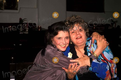 Patricia Neal Photo - 1989 Patricia Neal and Shelly Winters Photo by John BarrettGlobe Photos Inc Patricianealretro