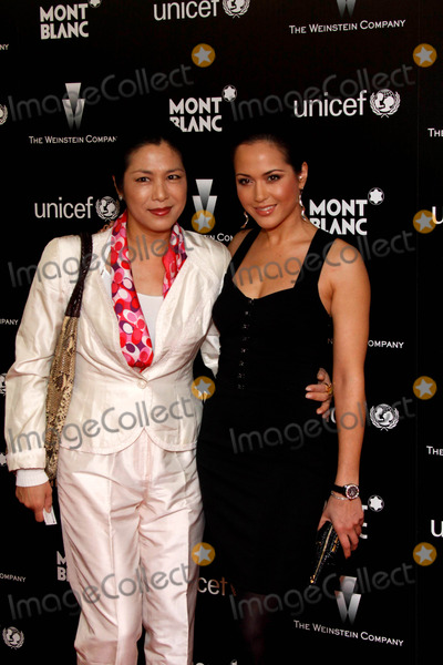 Ankie Lau Photo - Producer Ankie Lau (L) and Daughter Actress Ankie Beilke Montblanc  Unicef Charity Cocktail to Benefit Unicef Soho House West Hollywood 03-06-2010 Photo by Alec Michael-Globe Photos Inc 2010