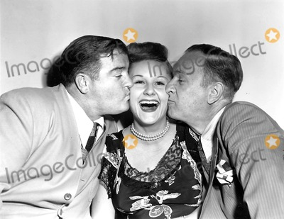 Margaret Whiting Photo - Lou Costello Margaret Whiting and Bud Abbott Globe Photos Inc