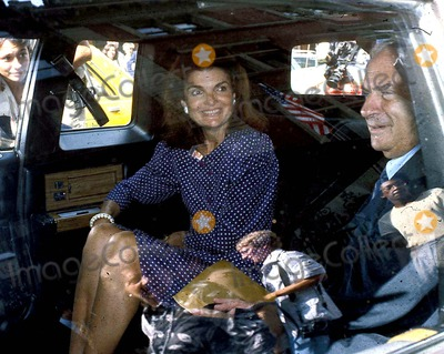 Jacqueline Kennedy Onassis Photo - Jacqueline Kennedy Onassis and R Strauss Photo Byhy SimonGlobe Photos Inc 1980 Jacquelinekennedyonassisretro