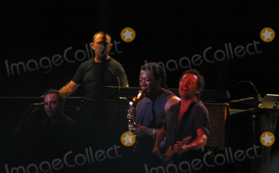 Bruce Springsteen Photo - Sd0731 Bruce Springsteen in Concert Ashbury Park New Jersey Photojohn BarrettGlobe Photos Inc 2002 Clarence Clemmons and Bruce Springsteen