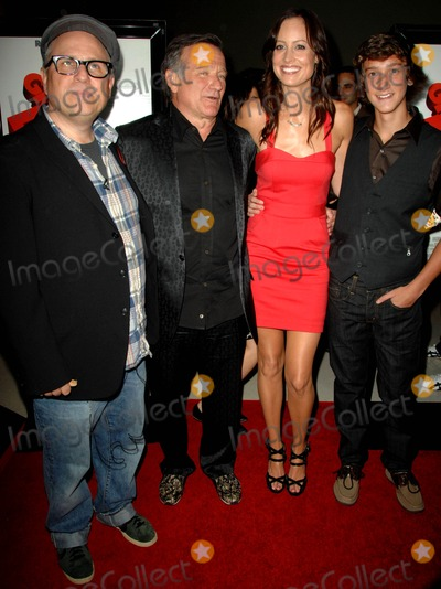 Alexis Gilmore Photo - Bobcat Goldthwait Robin Williams Alexie Gilmore Evan Martin attends the Los Angeles Premiere of  Worlds Greatest Dad Held at the Landmark Theatre in Los Angeles California on August 13 2009 Photo by David Longendyke-Globe Photos Inc 2009