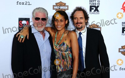 Blake Perlman Photo - Ron Perlman Blake Perlman Kim Coates attending the Season Six Premiere of Fxs Sons of Anarchy Held at the Dolby Theatre in Hollywood California on September 7 2013 Photo by D Long- Globe Photos Inc