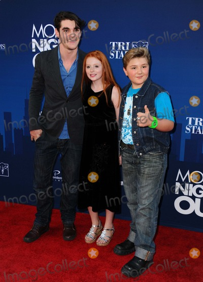 Lacianne Carriere Photo - Rj Mitte Lacianne Carriere Zachery Alexander Ricerreie attending the Los Angeles Premiere of moms Night Out Held at the Tcl Chinese Theatre in Hollywood California on April 29 2014 Photo by D Long- Globe Photos Inc
