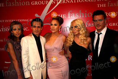 Alchemist Photo - The Fashion Group International Presents the 25th Annual Night of Stars Honoring the Alchemists Cipriani Wall St NYC October 23 08 Photos by Sonia Moskowitz Globe Photos Inc 2008 Allegra Versace Marc Anthony Jennifer Lopez Donatella Versace