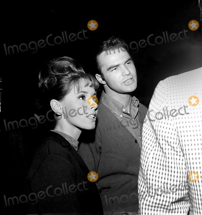 Burt Reynolds Photo - Judy Crane and Husband Burt Reynolds 1965 Globe Photos Inc