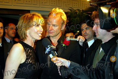Sting Photo - Singin in the Rain Forest the 12th Carnegie Hall Benefit Concert in Support of the Rainforest Foundation (after-party) the Pierre Hotel  New York City 04-21-2004 Photo Sonia Moskowitz Globe Photosinc 2004 Sting and Trudie Styler