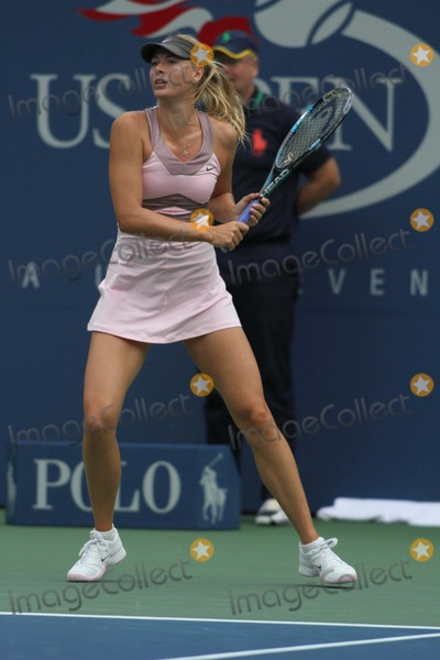 Arthur Ash Photo - Maria Sharapovia Day 9 at Us Open Tennis at Arthur Ashe Stadium 9-4-2012 Photo by John BarrettGlobe