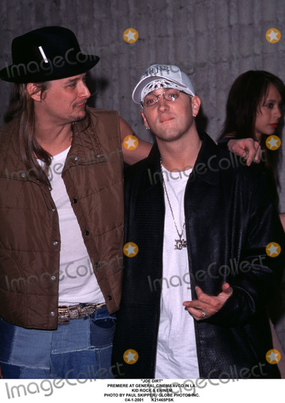 Photo of Kid Rock & his friend musician  Eminem - Longtime
