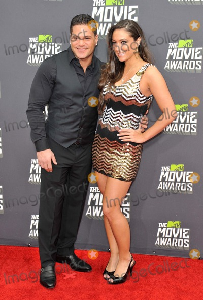 Ronnie Ortiz Magro Photo - Ronnie Ortiz-magro Sammi Sweetheart Giancola attending the 2013 Mtv Movie Awards - Arrivals Held at the Sony Pictures Studios in Culver City California on April 14 2013 Photo by D Long- Globe Photos Inc