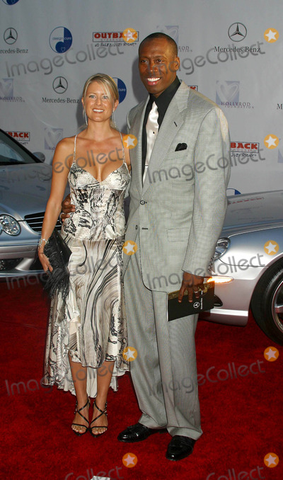 Al Joyner Photo - 6th Annual Mercedes Benz Designcure at the Home of Sugar Ray Leonard in Pacific Palisades CA 07102004 Photo by Clinton H WallaceipolGlobe Photos Inc 2004 AL Joyner and Wife Alisha Joyner