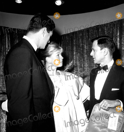 Rock Hudson Photo - Rock Hudson Doris Day and Tony Randall c519-4c Globe Photos Inc Tonyrandallretro