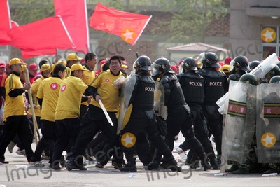 ARMED POLICE Photo - Apr 29 2008 Beijing China the Armed Police of Security Command Center For the Games of the 29th Olympiad Have a Drill in the 100-day Countdown of Beijing Olympic Games Photo by Top Photo-Globe Photos Inc