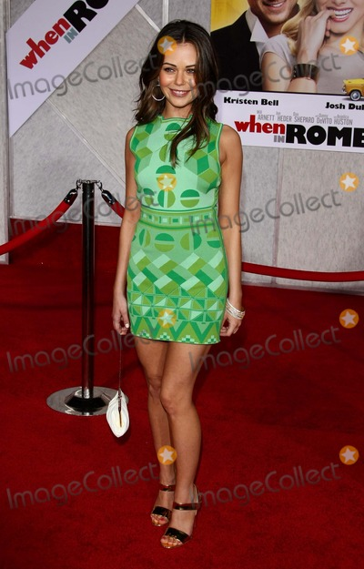 Alexis Dziena Photo - Alexis Dziena Actress When in Rome Premiere at the El Capitan Theater Hollywood CA 01-27-2010 Photo by Graham Whitby Boot-allstar-Globe Photos Inc 2010