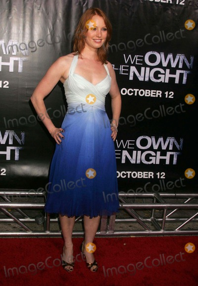 Alicia Witt Photo - Premiere of We Own the Night at the Chelsea West Theatre West 23rd Street 10-09-2007 Photos by Rick Mackler Rangefinder-Globe Photos Inc2007 Alicia Witt