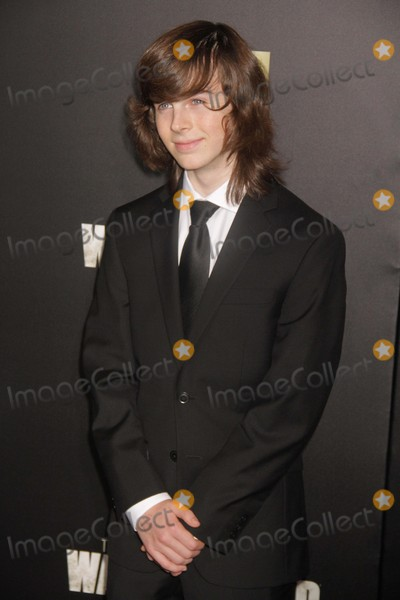 Chandler Riggs Photo - Chandler Riggs at Amc Season Six Debut of the Walking Dead at Fan Premiere Event at Madison Square Garden 10-9-2015 John BarrettGlobe Photos
