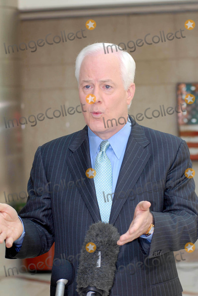 John Cornyn Photo - Senator John Cornyn(r-tx) Talks with Reporters Outside the Cnn Studios After His Appearance on the Sunday Morning Talk Show Late Edition with Wolf Blitzer Washington DC 06-17-2007 John Cornyn