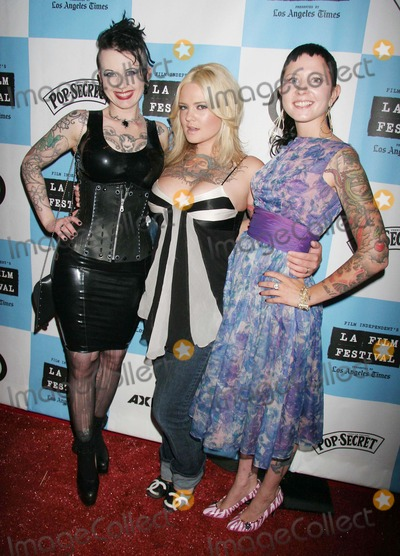 Suicide Girls Photo - Los Angeles Film Festival 2007 Presents Wizard of Gore World Premiere Majestic Crest Theatre Westwood CA 06-22-07 Nixon Amina Munster and Cricket of the Suicide Girls Photo Clinton H Wallace-photomundo-Globe Photos Inc