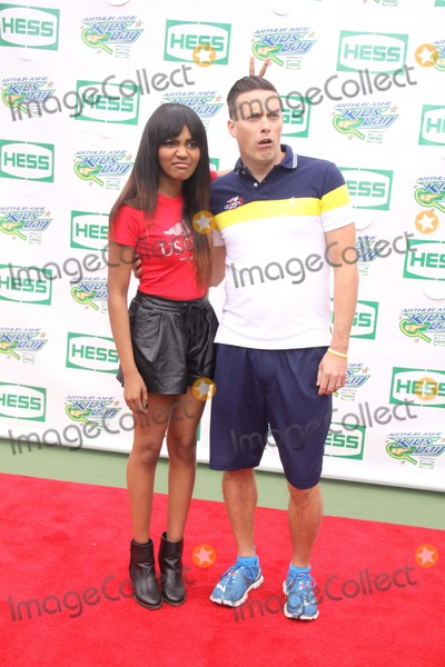 China McClain Photo - China Mcclain of Mcclainjeff Sutphen at Arthur Ashe Kids Day at Tennis Us Open at Usta Billie Jean King National Tennis Center 8-23-2014 John BarrettGlobe Photos