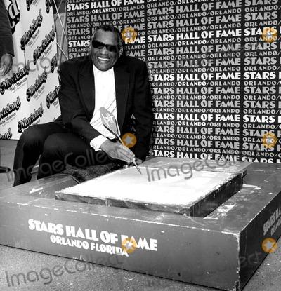 Ray Charles Photo - Raycharlesretro Ray Charles Photo by Nate Cutler  Globe Photosinc