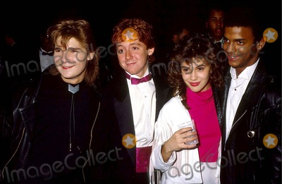 Alphy Hoffman Pictures >> Photos and Pictures - Corey Feldman with Drew Barrymore 3-31-1989 #15424 Photo by Phil Roach ...