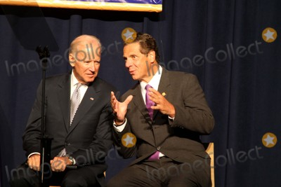 Andrew Cuomo Photo - Vice President Joesph Biden and New York Governor Andrew Cuomo Discuss the Economy and Make an Announcement About Raising the Minimum Wage to 1500 an Hour in New York State