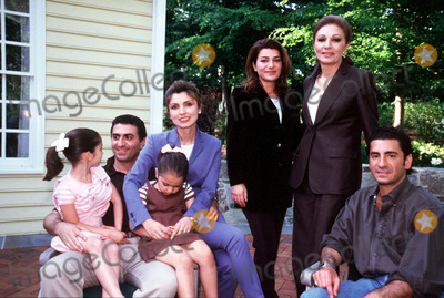 Prince Ali Photo - PRINCESS LEILAThis exceptional photograph was taken on the occasion of the 60th birthday of Empress farah in the usa (GREEWICH) in 1998For the photograph on the staircase back row princess Noor Reza ii Prince Ali RezaMiddle row Empress farah princess YasmineIn front princess Leila with Princess Iman on her knees Princess Farahnaz IMAPRESSPATRICK GELYGLOBE PHOTOS INC - ANNIVERSAIRE SMI FARAH GREENWITCH OCTOBRE 1998CREDIT IMAPRESSGLOBE PHOTOS INC