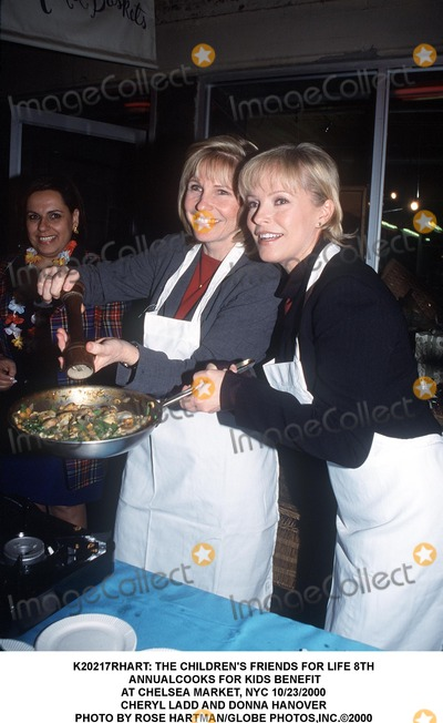 Cheryl Ladd Photo -  the Childrens Friends For Life 8th Annualcooks For Kids Benefit at Chelsea Market NYC 10232000 Cheryl Ladd and Donna Hanover Photo by Rose HartmanGlobe Photosinc