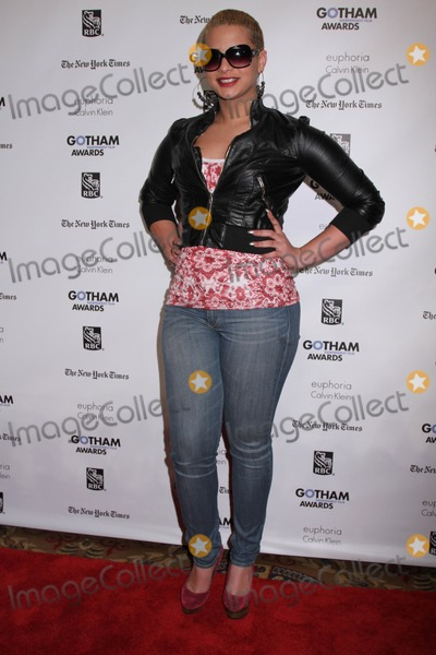 Harmony Santana Photo - Ifps 21st Annual Gotham Independent Film Awards Cipriani Wall Street NYC November 28 2011 Photos by Sonia Moskowitz Globe Photos Inc 2011 Harmony Santana