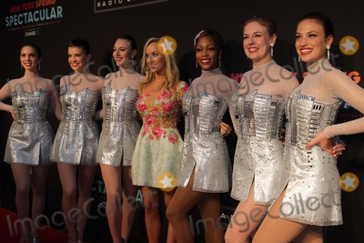 Nastia Liukin Photo - Nastia Liukin and Rockettes at Opening Night of the New York Spring Spectacular at Radio City Music Hall 3-26-2015 John BarrettGlobe Photos