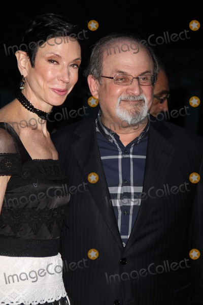 Salman Rushdie Photo - Salman Rushdieamy Fine Collins at Tribeca Film Festival Opening Vanity Fair Party at State Supreme Courthouse 4-17-2012 Photo by John Barrett-Globe Photos Inc