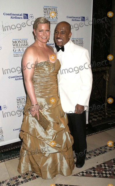 Emme Aronson Photo - 13 March 2008 - New York NY USA - Montel Williams and Emme Aronson (Emcee) attends Montel Williams MS Foundation Gala and Pro-Celebrity Poker Challenge presented by Continental Airlines at Cipriani 42nd St  The fundraiser evening is set in a roaring 20s Speakeasy themed room  and benefits The Montel Williams MS Foundation  Photo Credit  Anthony G Moore-Globe Photos Inc  2008Montel Williams and Emme AronsonK56944AGM