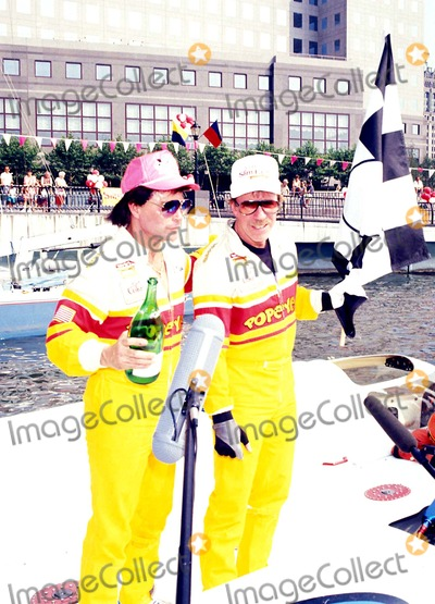 Chuck Norris Photo - Speed Boat Racing Chuck Norris and AL Copeland Photo Michael Ferguson  Globe Photos Inc 1990 Chucknorrisretro