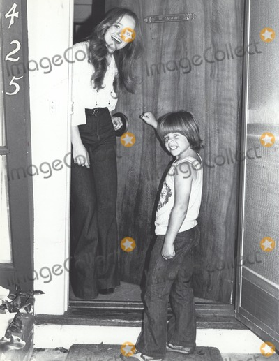 Adam Rich Photo - Susan Richardson with Adam Rich 1978 Supplied by Globe Photos Inc