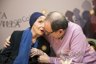 Alicia Alonso Photo - SEVILLE SPAIN November 4 Alicia Alondo and Roger Salas (L-R) attends the presentation of the book -Alicia Alonso or eternity of Giselle- of the writer Giselle Mayda Bustamante in the theater La Maestranza in Seville Spain