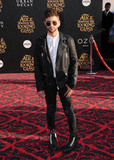 Max Ehrich Photos - 24 May 2016 - Hollywood California - Max Ehrich Arrivals for the Premiere Of Disneys Alice Through The Looking Glass held at El Capitan Theater Photo Credit Birdie ThompsonAdMedia