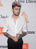 Irving Azoff,Zayn Malik Photos - 14 February  - Beverly Hills Ca - Zayn Malik Arrivals for the 2016 Pre-GRAMMY Gala And Salute to Industry Icons Honoring Irving Azoff held at The Beverly Hilton Hotel Photo Credit Birdie ThompsonAdMedia